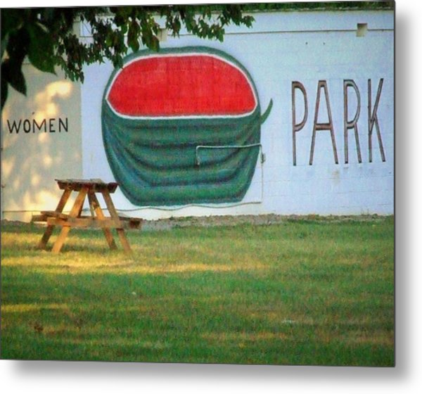 Watermellon Park Metal Print