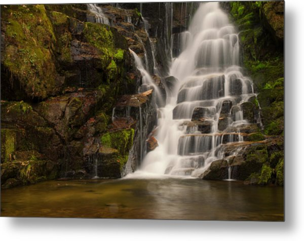 Water's Staircase Metal Print
