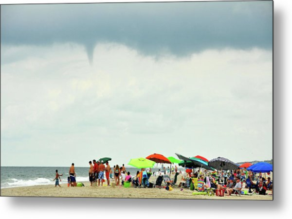 Waterspout Metal Print by JAMART Photography