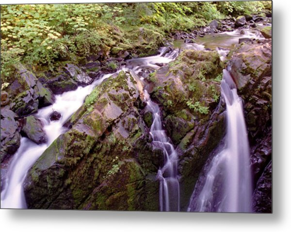 Waterstreaming Metal Print