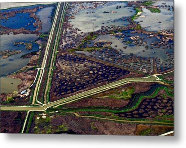 Waterways9 Metal Print by Sylvan Adams