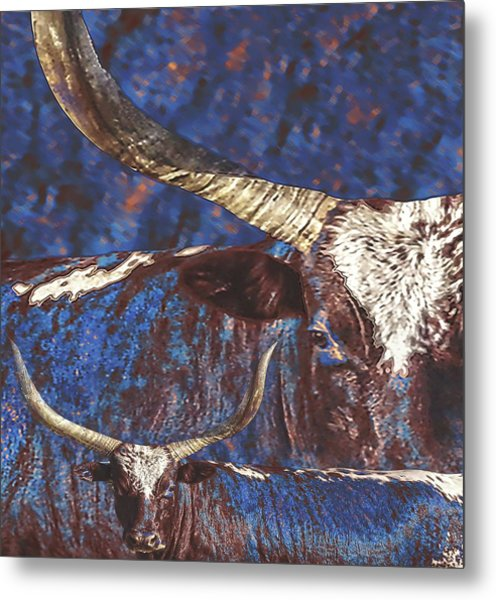 Watusi Blues Metal Print