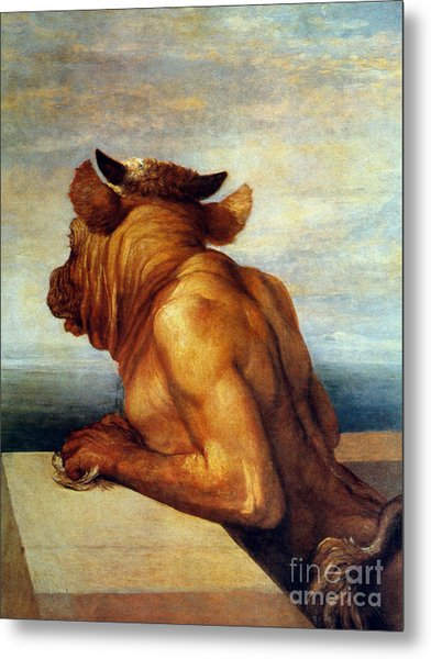 Watts: The Minotaur Metal Print