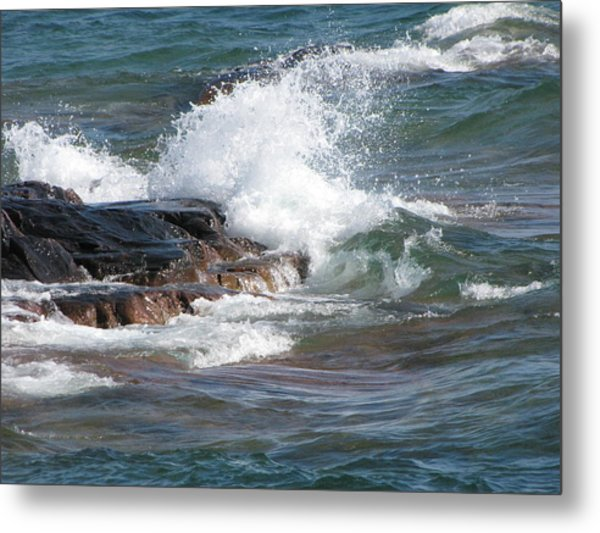 Wave Length Metal Print