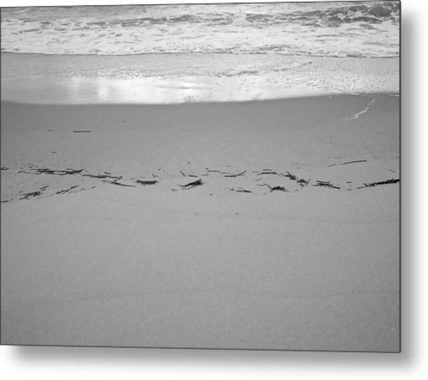 Wave Remarks Metal Print