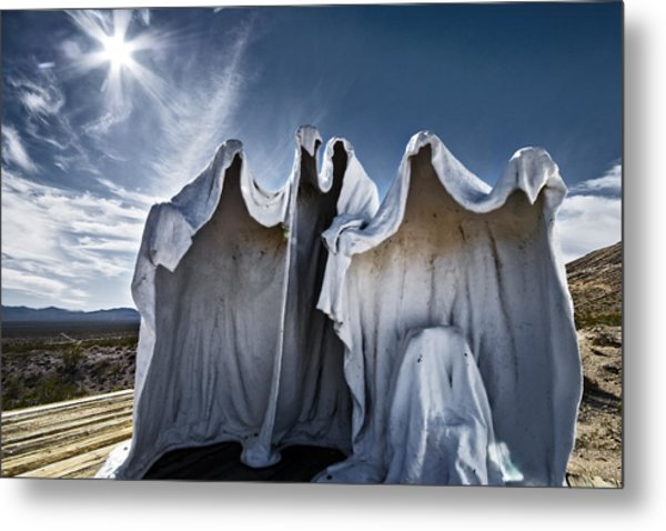 We Are The Things That Go Bump In The Night That You Cant See Metal Print by Mike McMurray