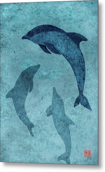 We Dream Again Of Blue Green Seas Metal Print