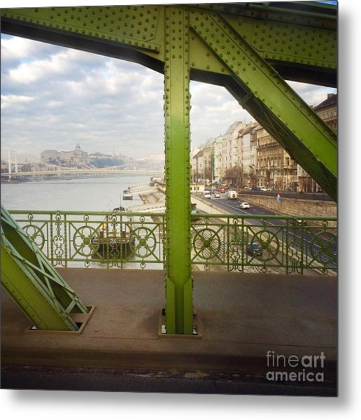 We Live In Budapest #4 Metal Print