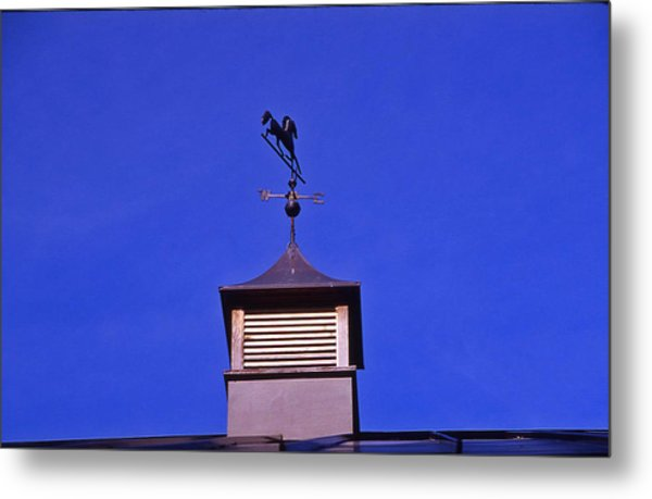 Weather Vane Metal Print by Randy Muir