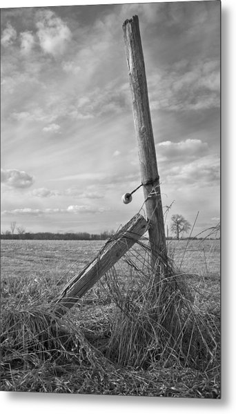 Weathered Metal Print