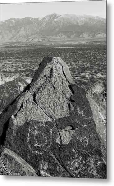 Weathered Peaks Metal Print by Joseph Smith
