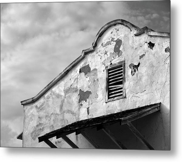 Weathered Sanctuary Metal Print