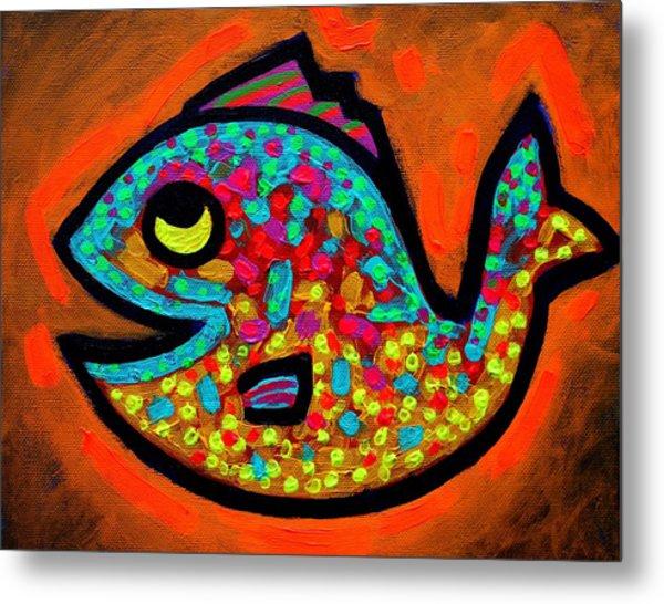 Weekend Fish  Metal Print