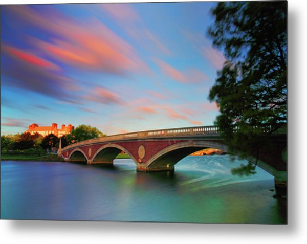Weeks' Bridge Metal Print