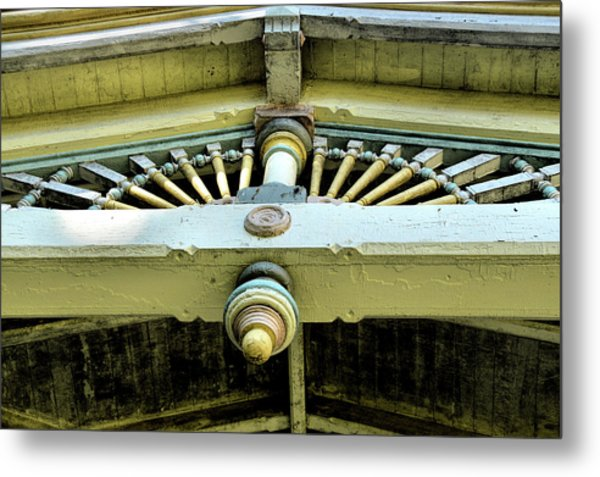 Welcome Details Metal Print by JAMART Photography