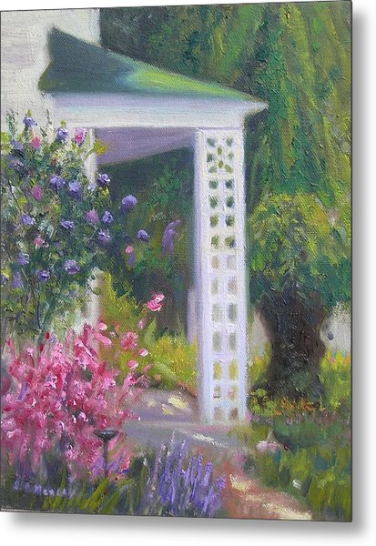 Welcome Home Metal Print by Sharon Morley