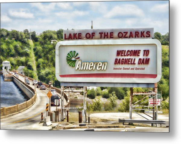 Welcome To Bagnell Dam Metal Print