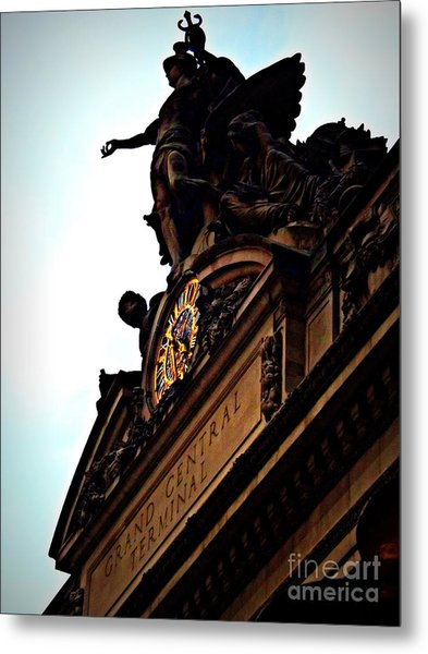 Welcome To Grand Central Metal Print