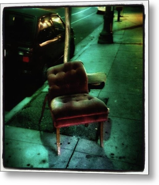 Metal Print featuring the photograph Welcome To My Living Room, Pull Up A by Mr Photojimsf