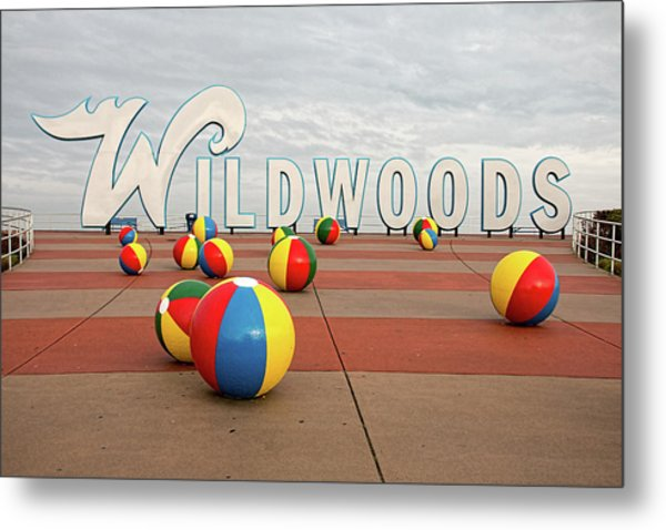 Welcome To The Wildwoods Metal Print