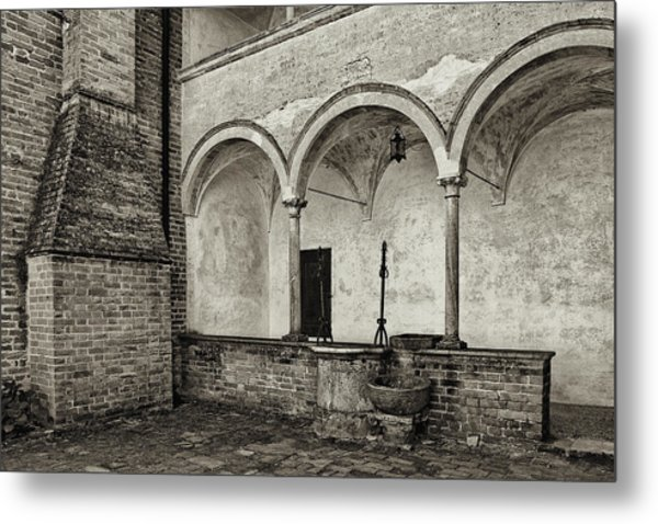 Well And Arcade Metal Print