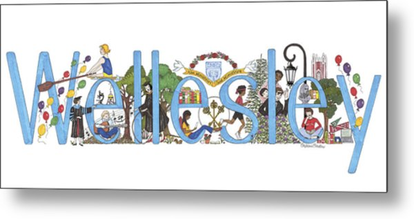 Wellesley College Metal Print