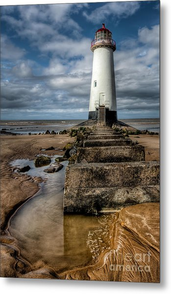 Welsh Lighthouse  Metal Print