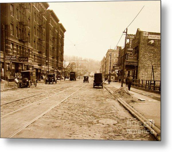 West 207th Street, 1928 Metal Print