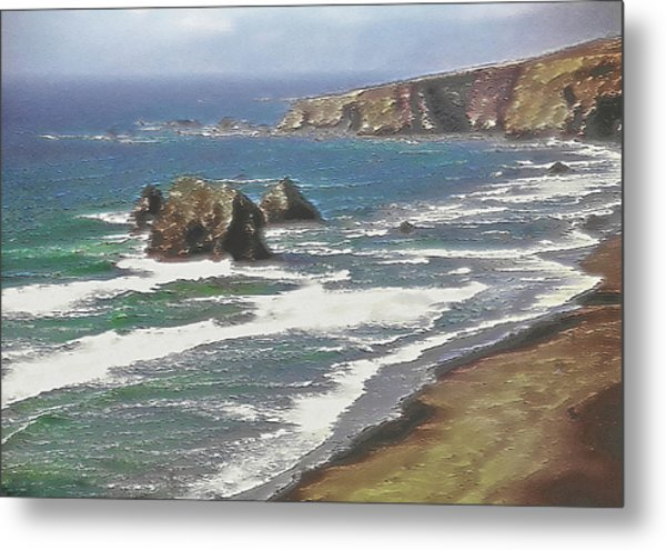 West Coast 2 Metal Print by Steve Ohlsen