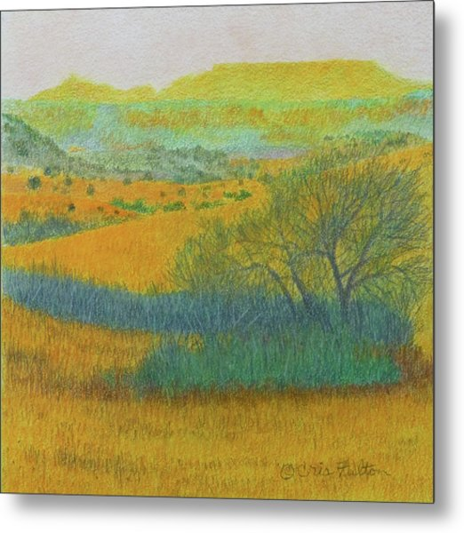 West Dakota Reverie Metal Print