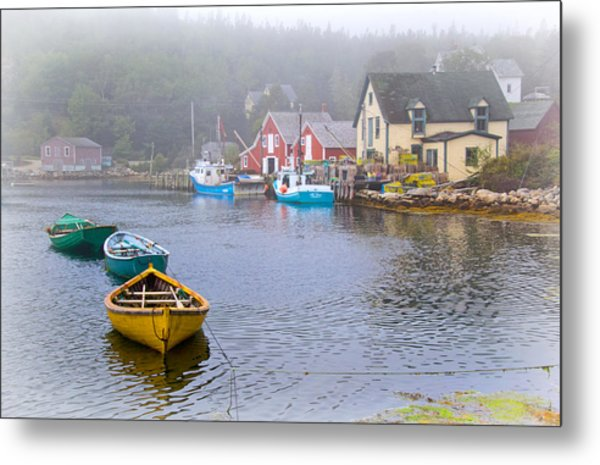 West Dover Harbour Metal Print