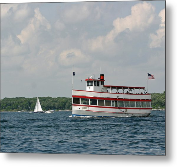 West Lake Queen Ll Metal Print