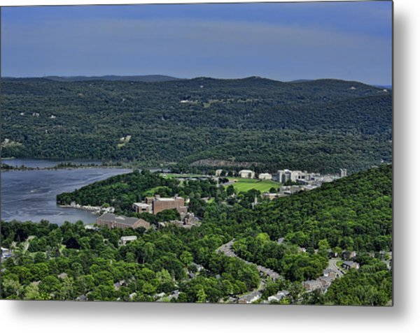 West Point From Storm King Overlook Metal Print