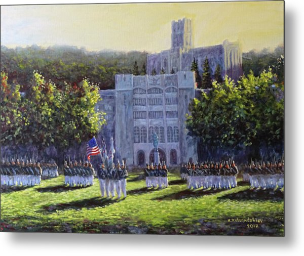 West Point Parade Metal Print
