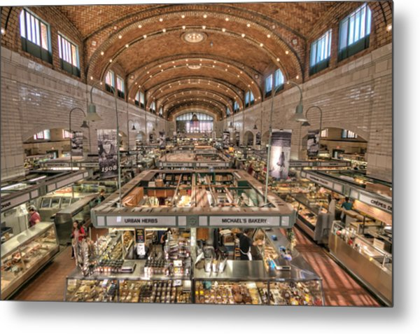 West Side Market Metal Print