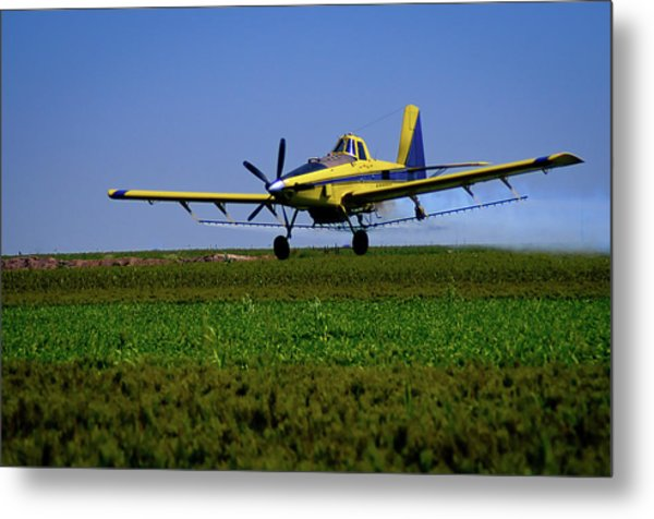 West Texas Air Force 2 Metal Print