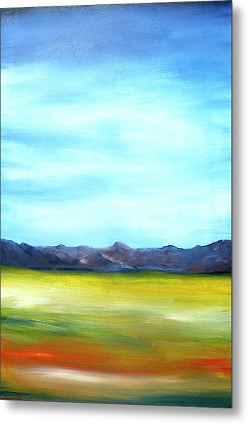 West Texas Landscape Metal Print