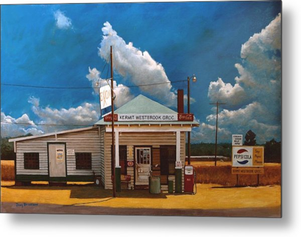 Westbrook Country Store Metal Print by Doug Strickland
