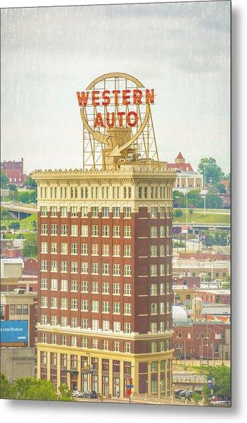 Western Auto Metal Print