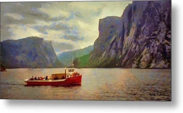 Western Brook Pond Metal Print