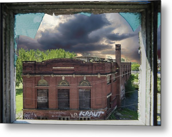 Westinghouse In A Storm Metal Print