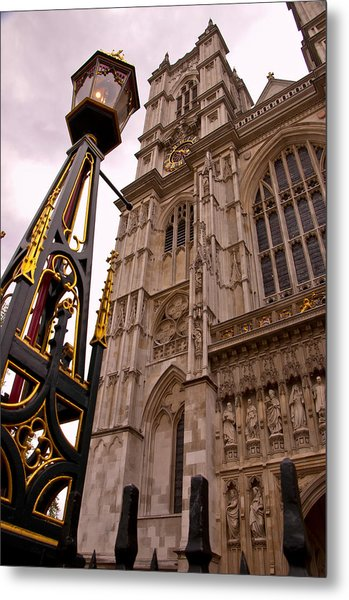 Westminster Abbey London England Metal Print