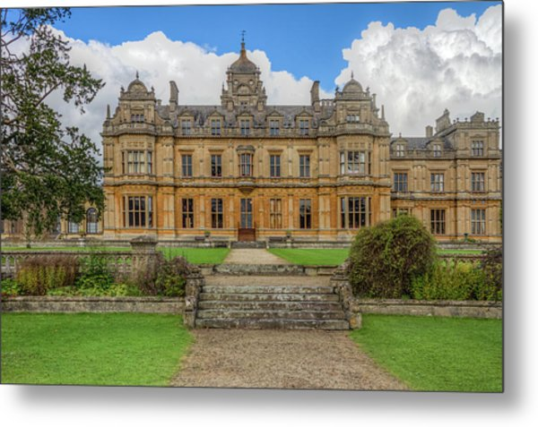 Metal Print featuring the photograph Westonbirt School For Girls by Clare Bambers
