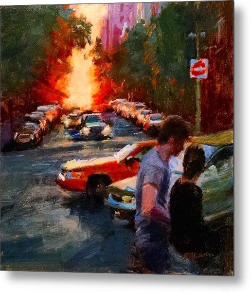 Westside Sunset No. 3 Metal Print
