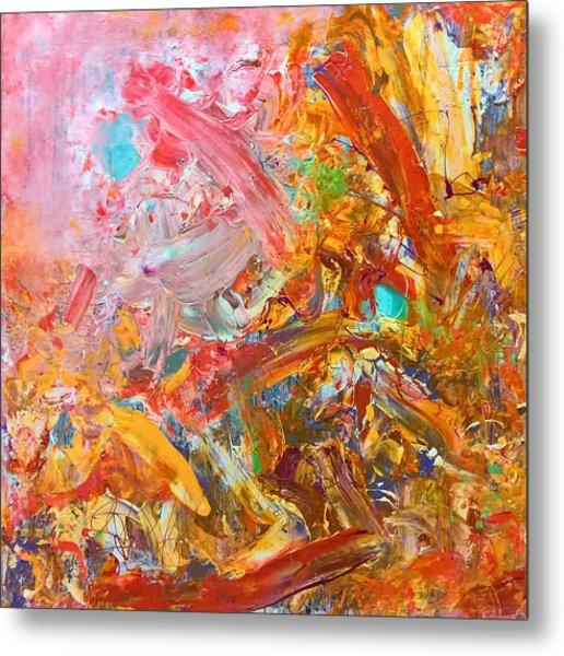 Wet Abstract #91517 Metal Print