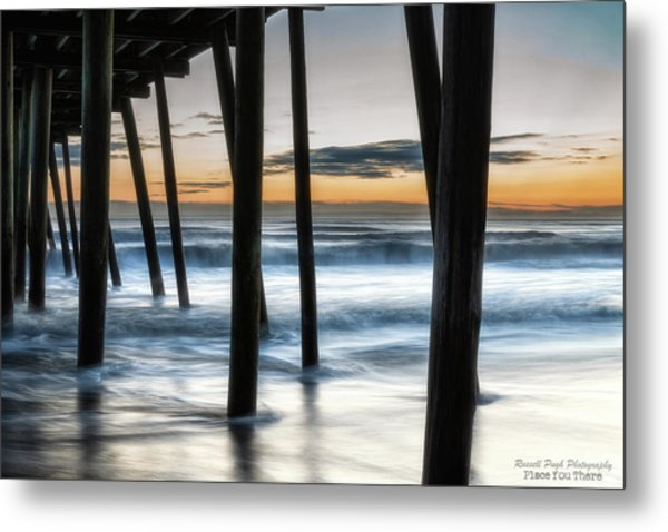 Wet Feet Metal Print
