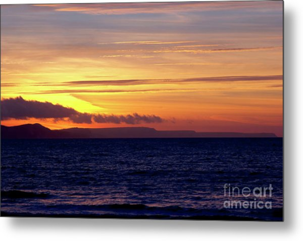 Weymouth To Purbeck Metal Print