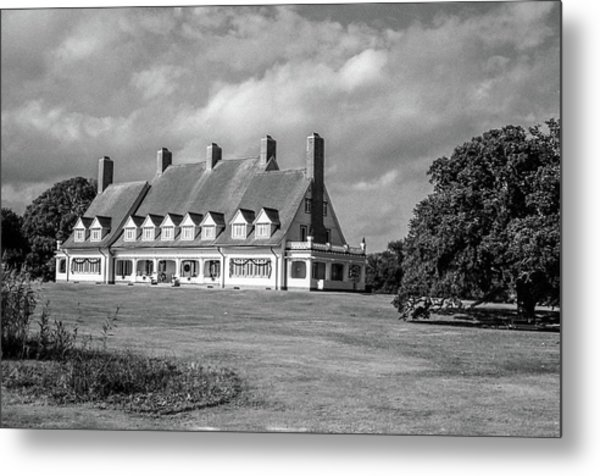 Whalehead Club Metal Print