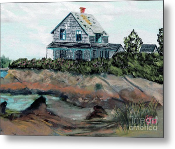 Whales Of August House Metal Print