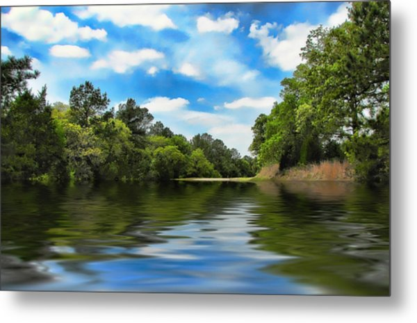 What I Remember About That Day On The River Metal Print